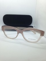 NEW AUTHENTIC BURBERRY B 2208 3560 EYEGLASSES FRAME SIZE 53-17-140 ITALY - $56.09