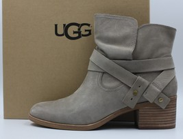 UGG Elora Women's Leather Heel Boot 1019148 - Sahara - Size 11 - NEW - $130.89