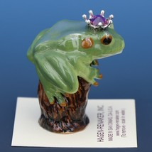 Birthstone Tree Frog Prince October Tourmaline Miniatures by Hagen-Renaker image 2