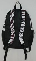 Room It Up Product Number TCDB6219 Black White Zebra Print Backpack image 2
