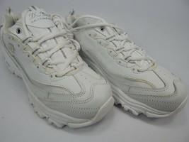 Skechers D'Lites Taglia Us 8.5 M (B) Eu: 38.5 Donna Scarpe da Ginnastica Bianco