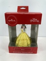 2018 Hallmark Disney Belle holds Rose Christmas Ornament holiday decor - $10.84