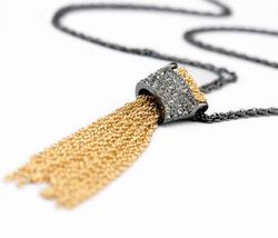 Latest Factory Wholesale Price High Quality Women Fashion Black Tassel Chain - $9.20