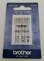 Brother Sewing Machine 5 Needles 3 Sizes (75/11, 90/14, 100/16)  - $7.99