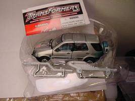 Transformers RID X-Brawn Lse Comp Unused w/Instr 2001 Hasbro Robots In D... - $13.10