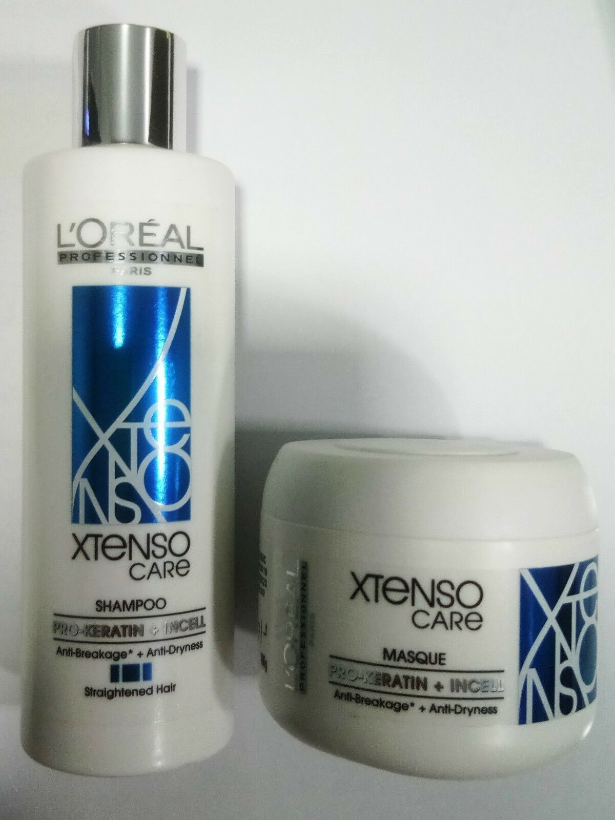 Primary image for Loreal Professionnel Xtenso Care Straight Shampoo 250 ml + Masque 196 gm