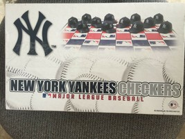 NEW YORK YANKEES CHECKERS FOR THE PERSON THAT HAS EVERYTHING NY 6022 - $9.70