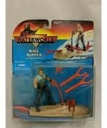 Waterworld Kenner 1995 Wave Ripper w/ Mariner Action Figure Sealed Kevin... - $14.84