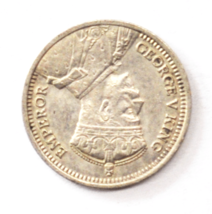 1936 New Zealand 3 Three Pence Silver Coin KM#7 - $14.84