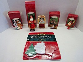 Lot of 6 Hallmark & Other Christmas Ornaments - $25.74