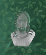 Viking Glass, Bust of Christ  - $18.00