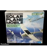 4M Solar Plane Mobile Kit Eco-Engineering Green Science NEW SEALED Ages 8+ - $19.79