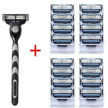 Mache 3 High quality Razor 4 PCs Blades with Compatible Manual Razor For... - $4.94+
