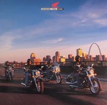 2001 Honda Shadow 1100 Motorcycle Brochure Sabre Aero ACE Tourer Spirit Xlnt - $8.98
