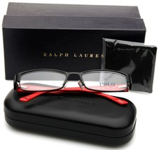 New Polo Ralph Lauren 1083 9038 Matte Black Eyeglasses Frame 54-17-135mm Italy - $98.98