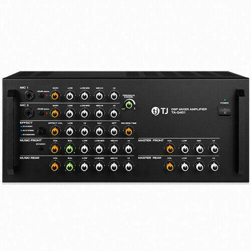 TJ Media TA-G401 Kraoke Machine DSP Mixer 4ch Amplifier