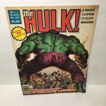 The Rampaging Hulk #13 The Titan and the Terrorists Marvel Magazine - $16.83
