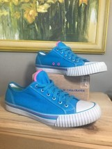 CLASSIC P F FLYERS Bright Blue CANVAS LOW-TOP SNEAKER SIZE US W11 M9.5 - $36.14