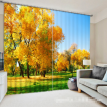 3D Outdoor 427 Blockout Photo Curtain Printing Curtains Drapes Fabric Window UK - $145.49+