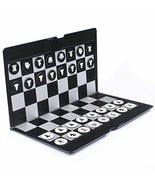 Foldable MINI Magnetic Chess Set Portable Wallet Pocket Chess Board Games - $14.95