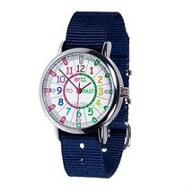 EasyRead Time Teacher Children's Watch, Rainbow Past & to Face, Navy Blu... - $36.23