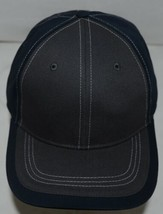 Richardson Contrast Stiching Navy Blue Charcoal Style 275 Baseball Hat Adjustabl image 2