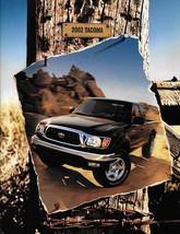 2002 Toyota TACOMA sales brochure catalog 02 S- Pre Runner - $8.00