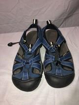KEEN Womens Newport H2 Navy Blue Waterproof Sport Sandals Size 8 Very Clean - £19.34 GBP