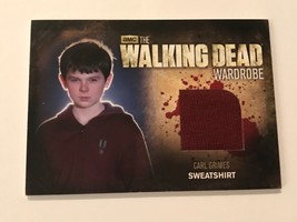 Cryptozoic Walking Dead Season 2 Wardrobe Chandler Riggs as Carl Grimes M34 - $17.82