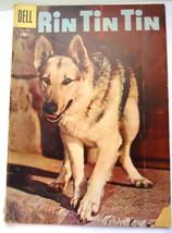 Rin Tin Tin Comic, Vintage Comic Book, Dell Comics, Silver Age Comic Book No. 17 - $18.00