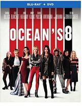 Ocean's 8 [Blu-ray+DVD, 2018]