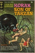 Korak Son of Tarzan Comic Book #39 Gold Key Comics 1971 VERY FINE- - $15.93