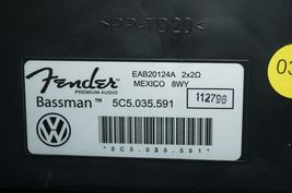 Vw Beetle Fender Audio BASSMAN Radio Stereo Speaker Trunk Subwoofer 5C5.035.591 image 5