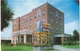 Wytheville VA George Wythe Hotel Vintage Virginia Greear Studio Postcard - $4.99