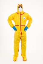 Chemical Splash Coverall w/ Hood & Boot Elastic Wrist Ankle Taped Seams ... - $74.84+