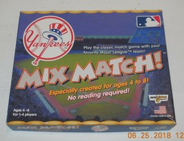 Mix Match Major League Team match game New York Yankees Edition 100% com... - $23.38
