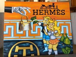 "Treasure Paintings JR Bissell: ""The Michael Coste Hermes Painting"" Pirat... - $100,000.00"