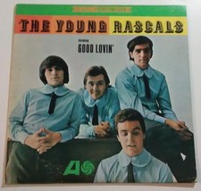The Young Rascals LP Record 1966 Atlantic Recording Good Lovin - $12.37