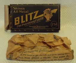 GREAT NEAR MINT Vintage BLITZ Polishing Cloth U... - $25.23