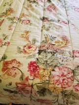 Vintage Ralph Lauren Twin Comforter set 4 pc River Floral  Made in USA - $145.98