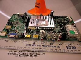 "RCA 32"" L32HD31YX12 Main Board 40-00S86A-MAE4xG / 88727826221574 - $28.99"