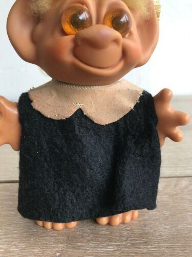 "Vintage Wishnik Uneda Troll Doll Graduation 6"""
