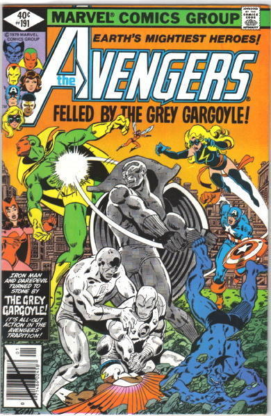 The Avengers Comic Book #191, Marvel Comics 1980 VERY FINE+