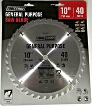 """10"""" 40 Teeth GENERAL PURPOSE Saw Blade 5/8"""" arbor C-2 Carbide Teeth SEALED - $24.74"""