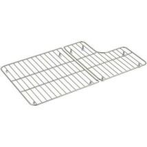 KOHLER Sink Bowl Rack Bottom Grid Dishwasher Safe Stainless Steel Rubber... - $50.00