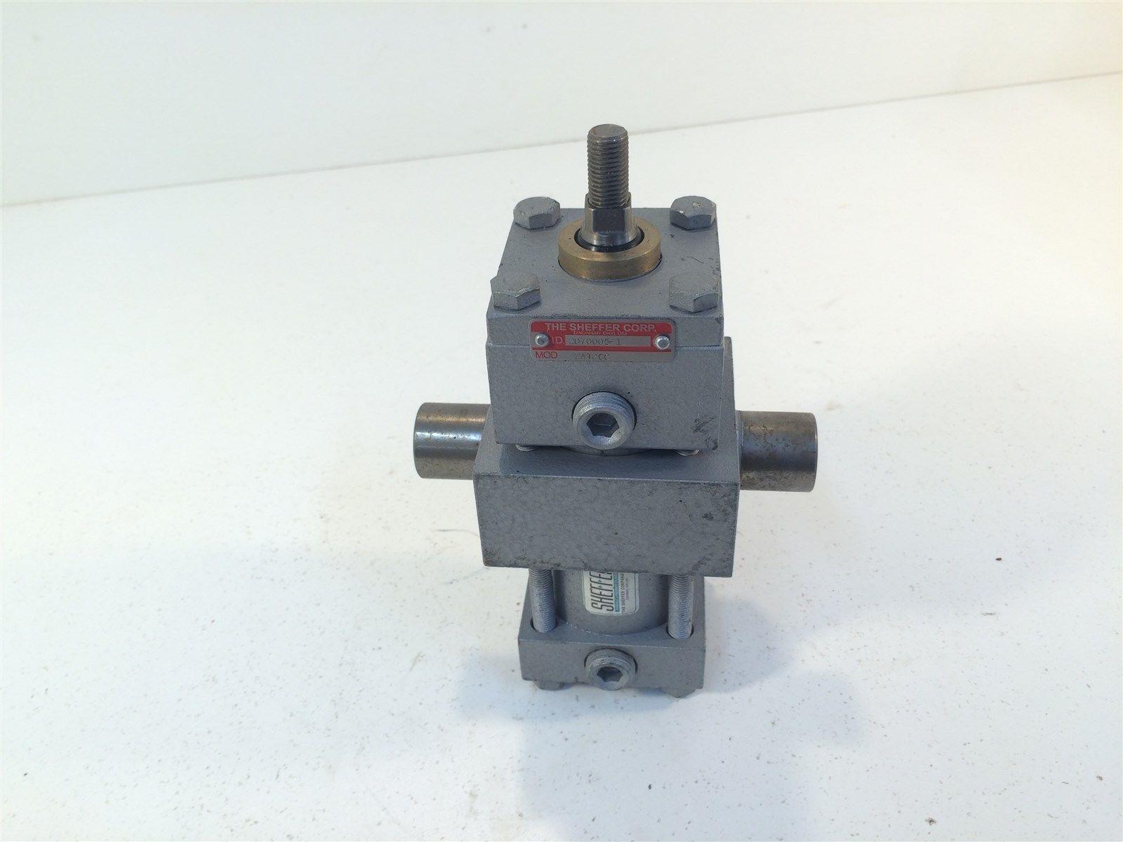 Sheffer Corp Hydraulic Cylinder Model 2AT2CC Trunnion Mount