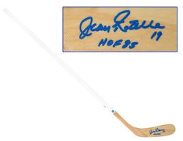 Jean Ratelle Autographed Wood Hockey Stick - New York Rangers - $250.00