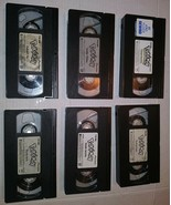 Pokemon Lot of 6 VHS Nintendo Hollywood Video Relic No cases VCR Cassettes - $12.86