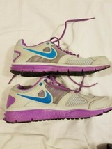 Nike Lunar Forever 2 Running Athletic Shoes Purple Gray 2012 Womens size 9 - $43.75