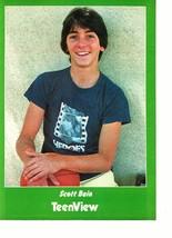 Scott Baio teen magazine pinup clipping heros shirt basketball cutie Teen View
